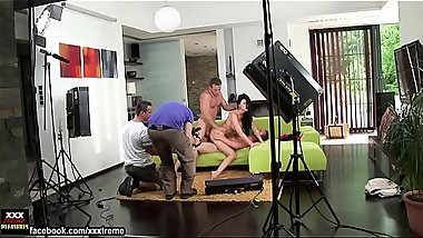 Aletta Ocean doing exercise in public &amp_ getting ready for porn