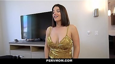 PervMom - Hot MILF Gets Dicked Down By Big Cock Stepson