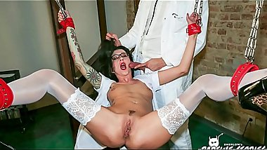 BADTIME STORIES - Inked slave German MILF humiliated by doc
