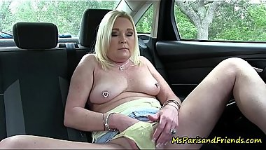 Ms Paris Will Masturbate ANYWHERE for ANYBODY!