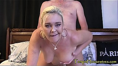 This Housewife'_s Pussy is ALWAYS Wet! featuring Ms Paris Rose