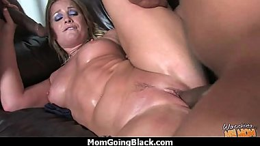 Huge Black Meat Going into Horny Mom 11