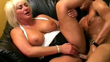 Ganny and young black cock