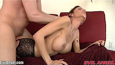 EvilAngel Gia DiMarco Analed and Gaped