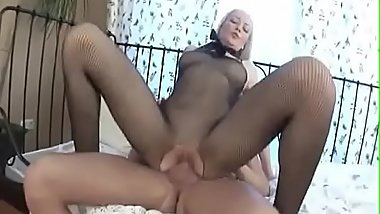 Blonde Russian Creampie Gaping Anal