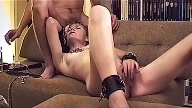 Maria tasting titclamps (compilation)