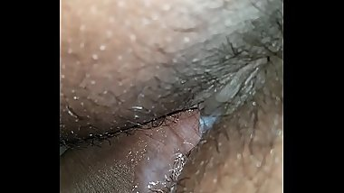 Late night quicky BBW ebony wet pussy