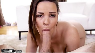 Throated Dana DeArmond Swallows that Dick Whole!