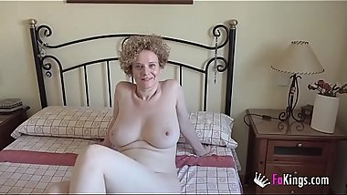 Her husband is away! Merc&eacute_. the GIANTLY TITTED MILF that loves fucking noobs