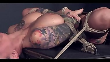 bdsm rough sex - Big tits milf deepthroats horny hard cock and provides her wet vagina - WWW.GIFALT.COM - bondage fetish
