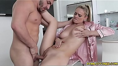 Hot milf Addie Andrews gets hotter after a young cock enters her cootie