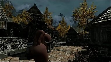 IMPREGNATED IN PUBLIC SKYRIM SLUT