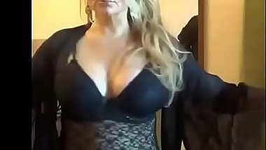 Busty milf on cam - Watch part 2 on getgirls.online