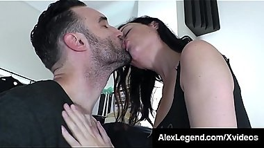 Big Dick Alex Legend Pussy Fucks Hot Babe Sovereign Syre!