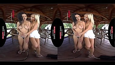 RealityLovers - Playing with Moms Pussy VR