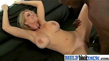 Charlee Chase sexy busty ride black huge cock on camera