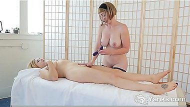 Yanks Miss Trish And Starlette'_s Sensual Sexy Playtime