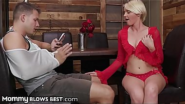 MILF Cougar Marie McCray is Starving for Stepsons Thick Dick