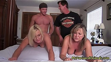 The TABOO Family Fucks a Friend