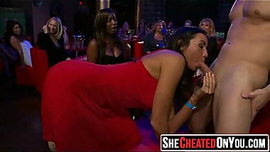 10 Cheating wives caught cock sucking at party28