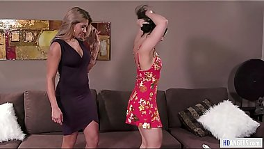 MOMMY'_S GIRL - Mom and Daughter almost caught on having sex! - Mercedes Carrera and Whitney Wright