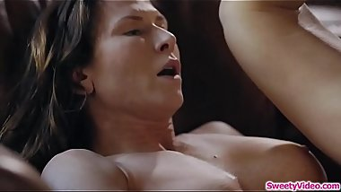 Milf gets her ass fucked by lesbian exgf
