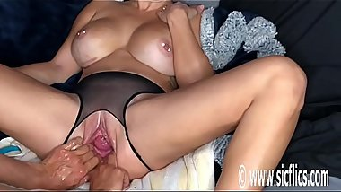 Double Fisting Hot Blonds Greedy Pussy