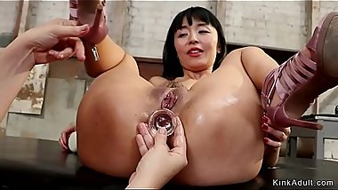 Milf domme butt plugs petite asian babe