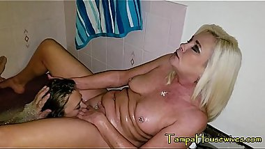 Ms Paris Loves It When The Girls Lick Her Pussy