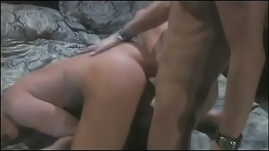Hung stud fucks curvy babe with nice round ass from the back