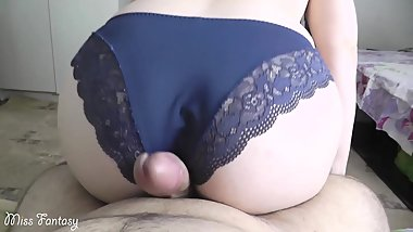 Step sister helps brother to cum