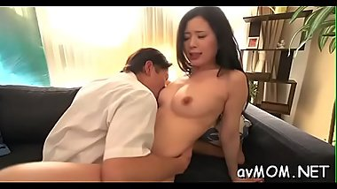 Asian mother i'_d like to fuck gets partial bald cunt hammered doggystyle