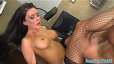 Real MILF secretary banged at the office
