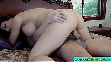 Busty raven fucking brother in law
