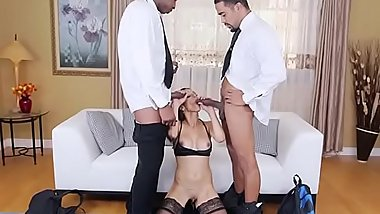 Lascivious MILF Eva Long Blows Her Lawyers